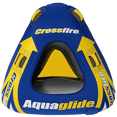 Aquaglide Crossfire 1 Towable Tube, , large