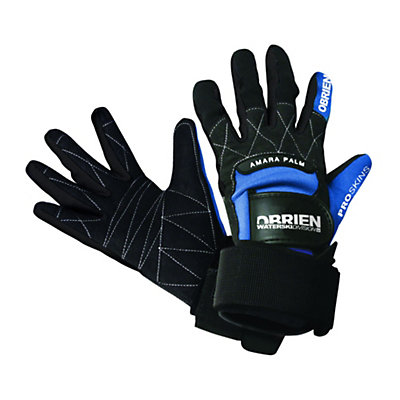 O'Brien Pro Water Ski Gloves 2017, Blue-Black, viewer