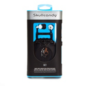 Skullcandy Full Metal Jacket Earbud Headphones 2010, Painted White-Black Apple, medium