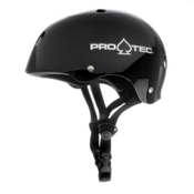 Pro-Tec Classic Mens Skate Helmet, Black, medium