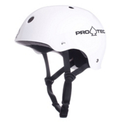 Pro-Tec Classic Mens Skate Helmet, Gloss White, medium