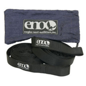 ENO Slap Strap Hammock Suspension 2017, Black, medium