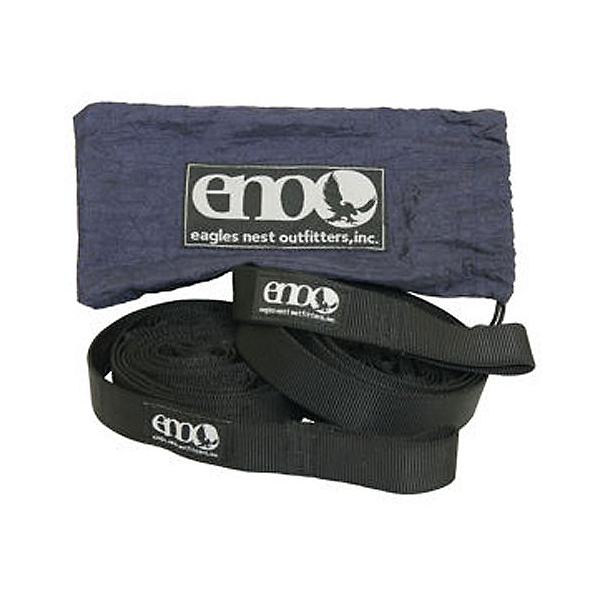 ENO Slap Strap Hammock Suspension 2017, Black, 600