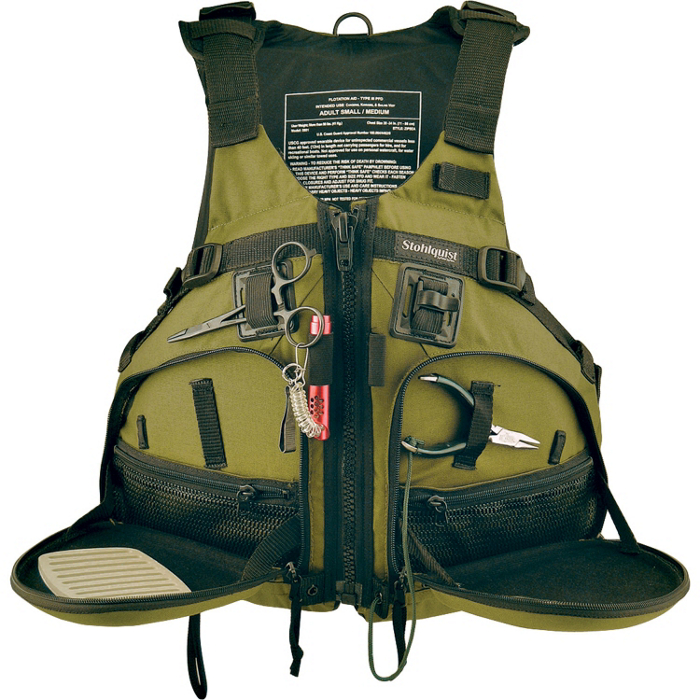 stohlquist fisherman fishing kayak life jacket 2015 ebay