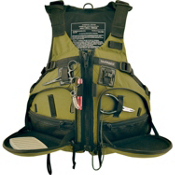 Stohlquist Fisherman Fishing Kayak Life Jacket 2017, Cactus, medium