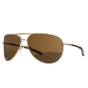 Smith Serpico Polarized Sunglasses, Gold, medium