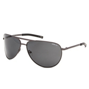Smith Serpico Polarized Sunglasses, Gunmetal-Polarized Gray, medium