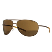 Smith Serpico Polarized Sunglasses, Matte Desert-Polarized Brown, medium