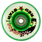 Red Star Scorpion SGT 74A Inline Hockey Skate Wheels - 4 Pack, , medium