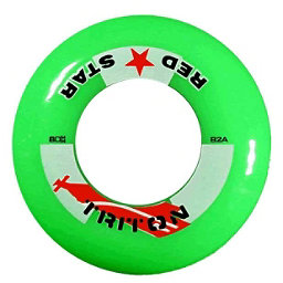 Red Star Triton 82A Inline Hockey Skate Wheels - 4 Pack, Green, 256