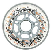 Explore Escalade Inline Skate Wheels - 8 Pack, 82A, medium
