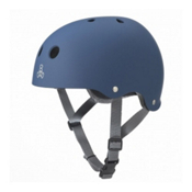 Triple 8 Brainsaver with EPS Liner Mens Skate Helmet, Blue Rubber, medium