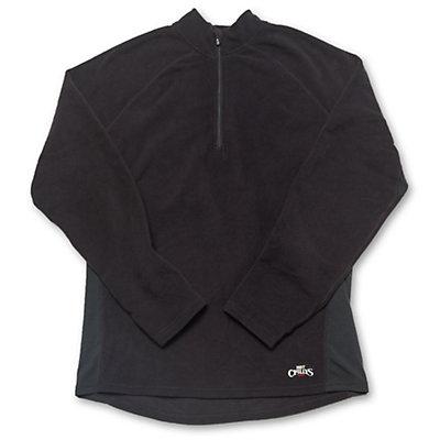 Hot Chillys La Montana Panel Zip-T Mens Long Underwear Top, , large