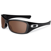 Oakley HiJinx Polarized Sunglasses, Polished Black, medium
