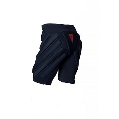 Crash Pads 1600 Padded Under Shorts, Black, large