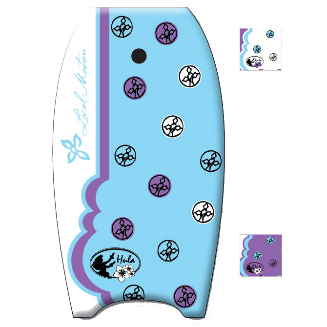 360 Inc. Local Motion Hula 36 Womens Body Board 2012