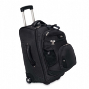 High Sierra AT3 Sierra-Lite 22-Inch 3-in-1 Carry-On Wheeled Bag, Black, medium