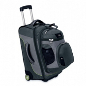 High Sierra AT3 Sierra-Lite 22-Inch 3-in-1 Carry-On Wheeled Bag, Graphite-Titanium-Spring, medium