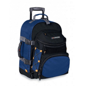 High Sierra A.T. Gear Classic 22-Inch Wheeled Carry-On Bag, Nightfall-Black, medium