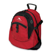 High Sierra Airhead Daypack 2013, Red-Charcoal-Black, medium
