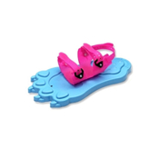 Red Feather Snowpaws Kids Snowshoes, Blue-Pink, medium