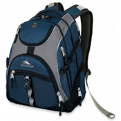 High Sierra Access Daypack, Navy-Ash-Black, medium
