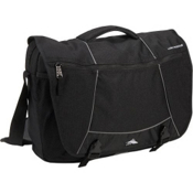 High Sierra Tank Messenger Day Bag, Black, medium