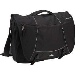 High Sierra Tank Messenger Day Bag, Black, 256