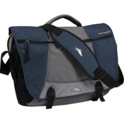 High Sierra Tank Messenger Day Bag, Navy-Ash-Silver-Black, medium