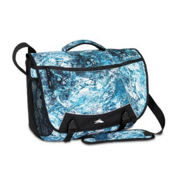 High Sierra Tank Messenger Day Bag, Blue Wash-Black, medium