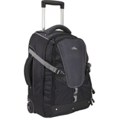 High Sierra Export 22-Inch Wheeled Bag, Black-Graphite, medium