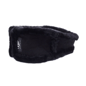 UGG Australia Ultra Headband Womens Hat, Black, medium