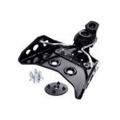Alpina Tour 75mm Cross Country Ski Bindings 2013, Black, medium