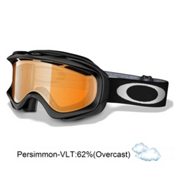 Oakley Ambush Goggles 2013, Jet Black-Persimmon, medium