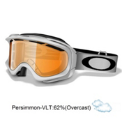 Oakley Ambush Goggles 2013, Polished White-Persimmon, medium