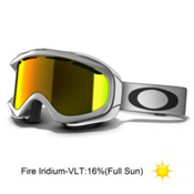 Oakley Ambush Goggles 2013, Polished White-Fire Iridium, medium