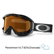 Oakley Ambush Goggles 2013, Silver Factory Text-Persimmon, medium