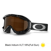 Oakley Ambush Goggles 2013, Silver Factory Text-Black Iridium, medium