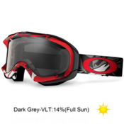 Oakley Ambush Goggles 2013, Glacier Red-Dark Grey, medium