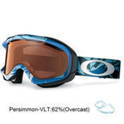 Oakley Ambush Goggles 2013, Glacier Blue-Persimmon, medium