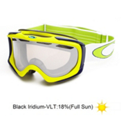Oakley Ambush Goggles 2013, Lightning Green-Black Iridium, medium