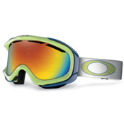 Oakley Ambush Goggles 2013, Lightning Green-Fire Iridium, medium