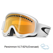 Oakley XS O Frame Kids Goggles 2013, Matte White-Persimmon, medium