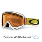 Oakley XS O Frame Kids Goggles 2013, White Sunset Plume-Persimmon, medium