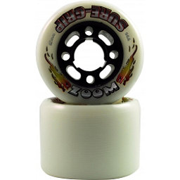 Sure Grip International Zoom Roller Skate Wheels - 8 Pack, White, 256