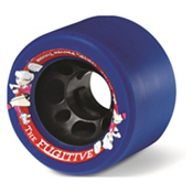 Sure Grip International Fugitive Roller Skate Wheels - 8 Pack, Blue, medium