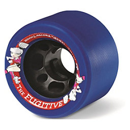 Sure Grip International Fugitive Roller Skate Wheels - 8 Pack, Blue, 256