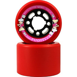 Sure Grip International Fugitive Roller Skate Wheels - 8 Pack, Red, 256