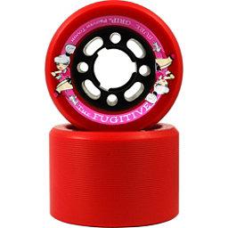 Sure Grip International Fugitive Roller Skate Wheels - 8 Pack, Red, 256