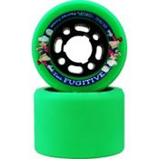 Sure Grip International Fugitive Roller Skate Wheels - 8 Pack, Green, medium